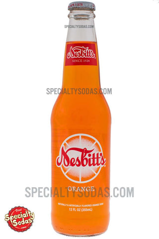 Nesbitt's Orange Soda 12oz Glass Bottle