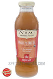 Numi Rejuvinate Organic Peach Pu-Erh Tea 12oz Glass Bottle