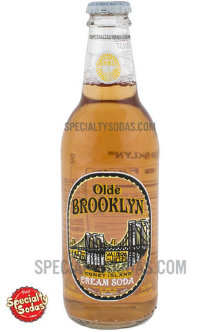 Olde Brooklyn Coney Island Cream Soda 12oz Glass Bottle