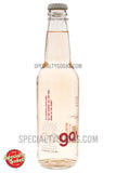 Oogave Agave Strawberry Rhubarb Soda 12oz Glass Bottle