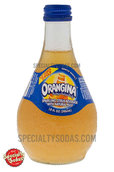 Orangina 10oz Glass Bottle Specialty Sodas