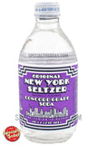 Original New York Seltzer Concord Grape Soda 10oz Glass Bottle