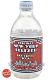 Original New York Seltzer Root Beer Soda 10oz Glass Bottle