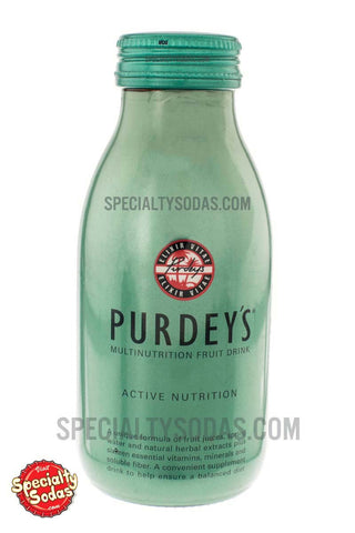 Purdey's Elixir Vitae Multinutrition Fruit Drink Active Nutrition 330ml Glass Bottle