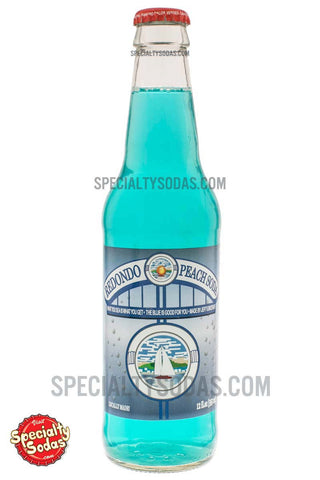 Redondo Peach Soda 12oz Glass Bottle