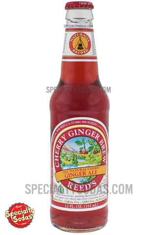 Reed's Cherry Ginger Brew 12oz Glass Bottle
