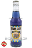River City Blueberry Lemonade Soda 12oz Glass Bottle