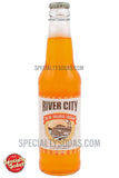 River City 50/50 Orange Cream Soda 12oz Glass Bottle