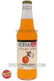 Romano's Italian Soda Orange Cream 12oz Glass Bottle