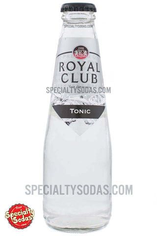 Royal Club Tonic Water 200ml Glass Bottle