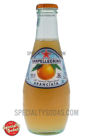 San Pellegrino Aranciata 200ml Glass Bottle