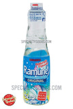 Sangaria Ramune Carbonated Soft Drink 200ml Glass Bottle