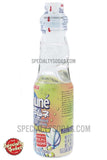 Sangaria Ramune Carbonated Soft Drink Plum Flavor 200ml Glass Bottle