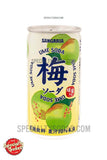 Sangaria Ume (Plum) Soda 6.3oz Aluminum Can