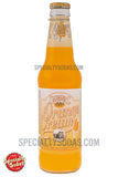 Saranac Orange Cream Soda 12oz Glass Bottle