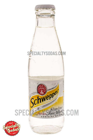 Schweppes Slimline Indian Tonic Water 200ml Glass Bottle