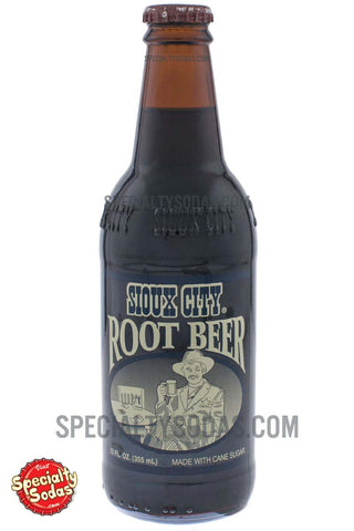 Sioux City Root Beer 12oz Glass Bottle