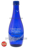 Something Natural Black Cherry Sparkling Water 11oz Glass Bottle