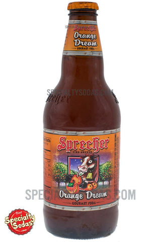 Sprecher Fire-Brewed Orange Dream 16oz Glass Bottle