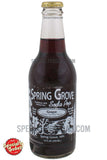 Spring Grove Grape Soda Pop 12oz Glass Bottle