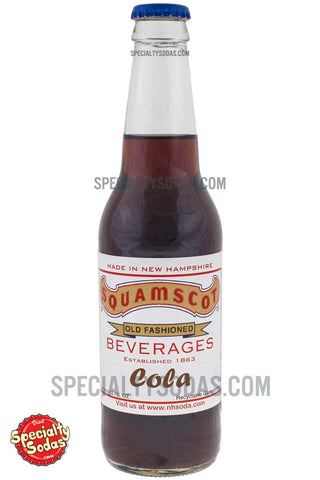 Squamscot Old Fashioned Cola 12oz Glass Bottle