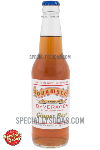 Squamscot Old Fashioned Ginger Beer 12oz Glass Bottle