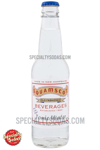 Squamscot Old Fashioned Tonic Water 12oz Glass Bottle