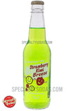 Strawberry Kiwi Breese Soda 12oz Glass Bottle