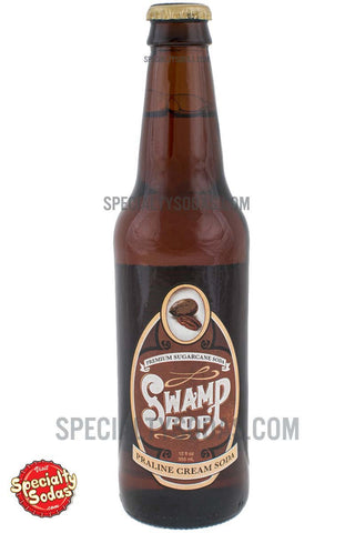 Swamp Pop Praline Cream Soda 12oz Glass Bottle