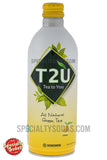 T2U Tea To You All Natural Green Tea Citron 16oz Aluminum Can