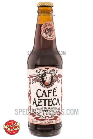 Taylor's Tonics Cafe Azteca Espresso Cola 12oz Glass Bottle
