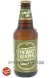 Thomas Kemper Ginger Ale 12oz Glass Bottle