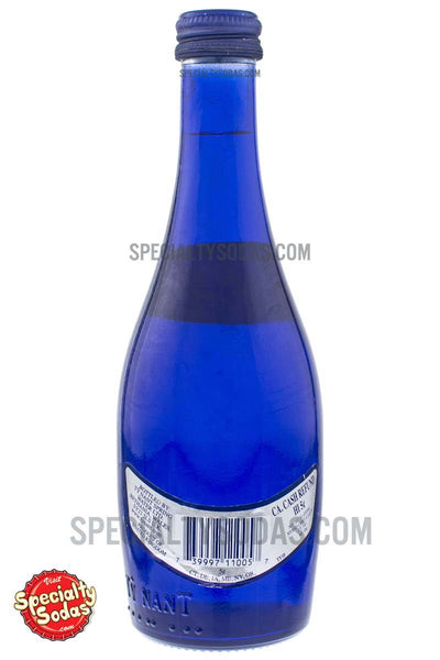 Ty Nant Still Spring Water 11oz Blue Glass Bottle