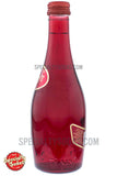 Ty Nant Too Carbonated Spring Water 11oz Red Glass Bottle