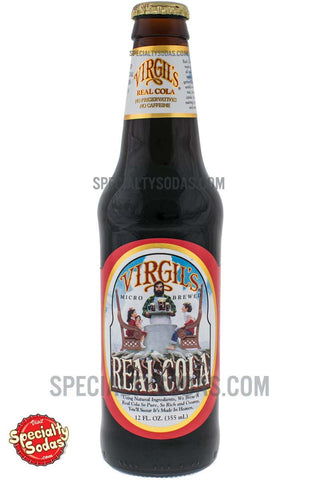 Virgil's Real Cola 12oz Glass Bottle
