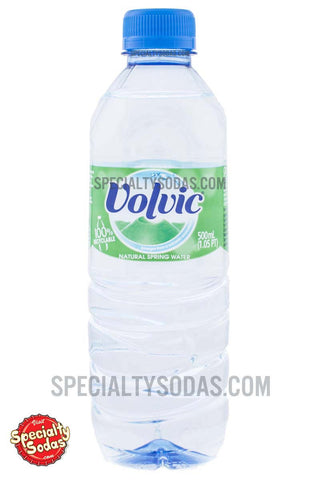 Volvic Natural Spring Water 500ml Plastic Bottle