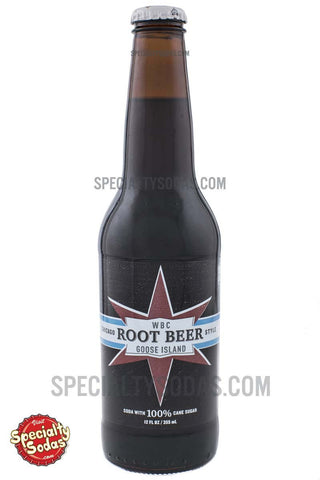 WBC Goose Island Root Beer 12oz Glass Bottle