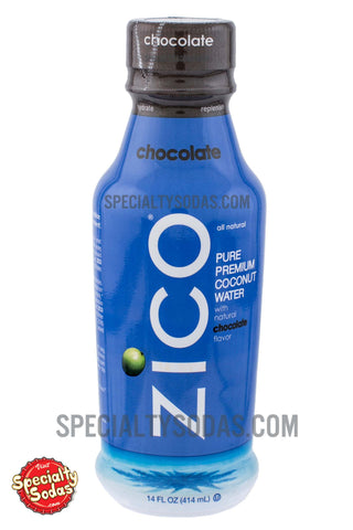 Zico Chocolate Pure Premium Coconut Water 14oz Plastic Bottle
