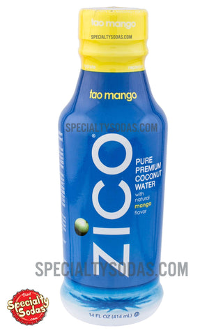 Zico Mango Pure Premium Coconut Water 14oz Plastic Bottle