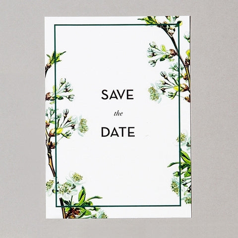 Linné Save the Date Kort