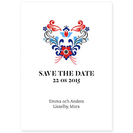 Kurbitz Save the Date kort