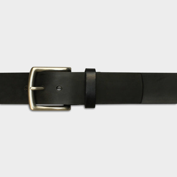 WIDE ARCH BUCKLE BELT - Black