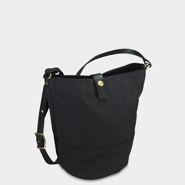 BUCKET BAG - Charcoal/Black