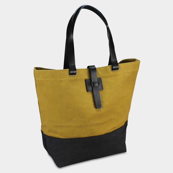 f1c855594 LARGE URBAN TOTE - Mustard/Black – Michael Green
