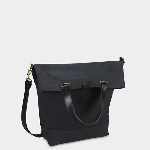SMALL MESSENGER BAG - Charcoal/Black