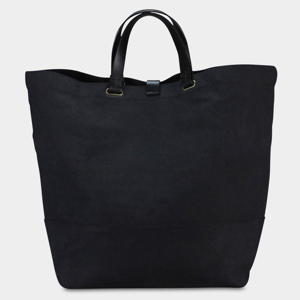 CARGO TOTE - Charcoal/Black