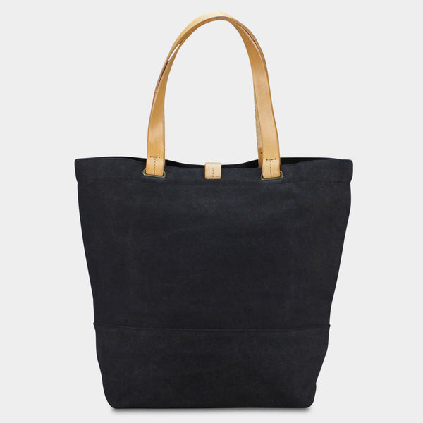 LARGE URBAN TOTE - Charcoal/Natural