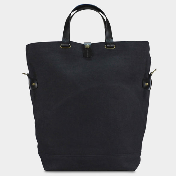 LARGE MESSENGER BAG - Charcoal/Black