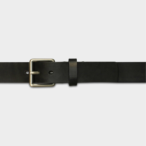 STANDARD ROLLER BUCKLE BELT - Black