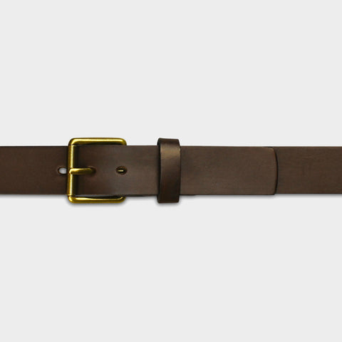 STANDARD ROLLER BUCKLE BELT - Brown